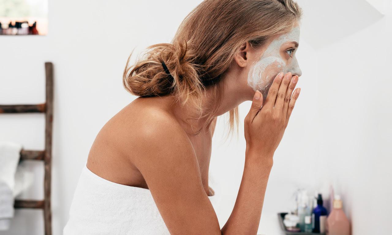 Gesichtsmaske Allgäu Spa